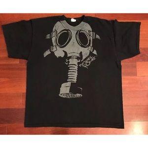 My Chemical Romance tee XL black elephant gas mask